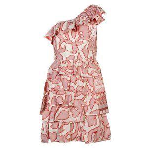 NWT Cynthia Steffe One Shoulder Dress